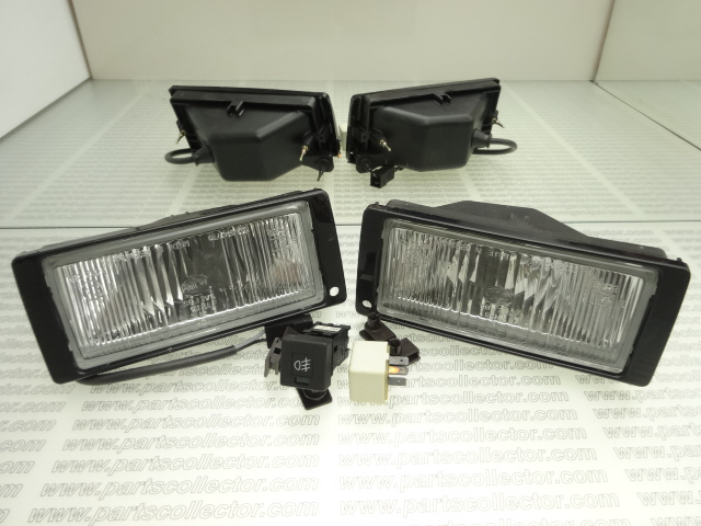 PAIR OF FOG LAMPS, SWITCH AND RELAY