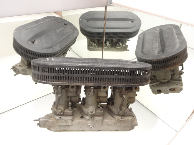 CARBURETTOR'S SET WITH INTAKE COLLECTOR AND AIR FILTER