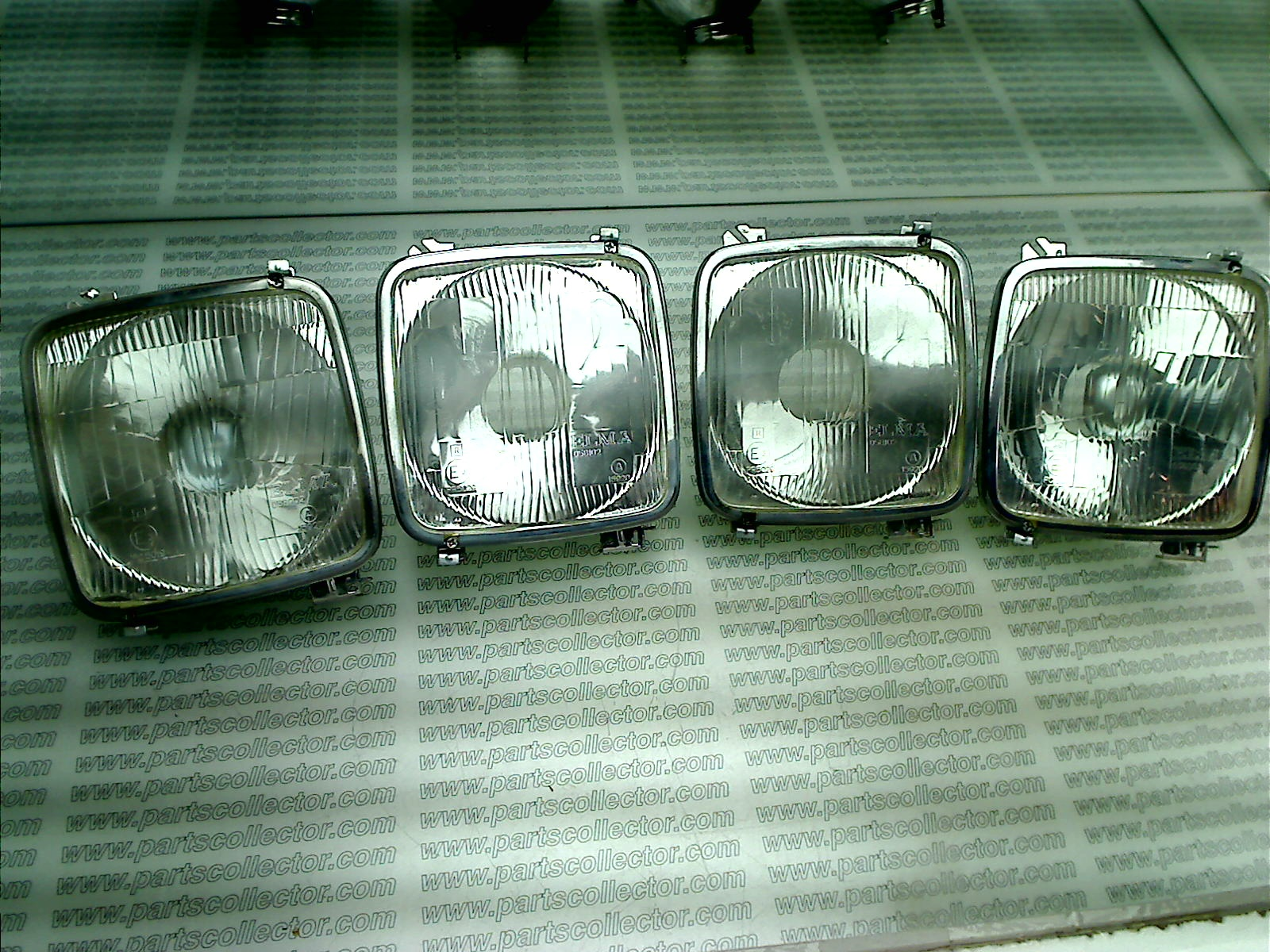 HEAD LIGHT SET 2+2