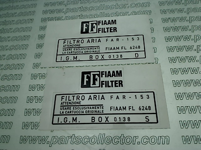 AIR FILTER STICKER RH/LH