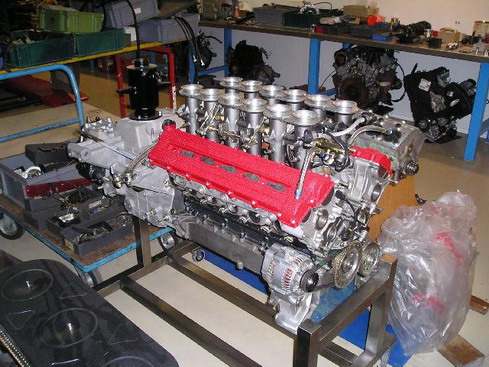 ENGINE AND GEARBOX